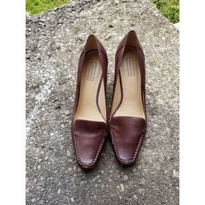 Nordstrom Brown Leather shoes Size 8.5
